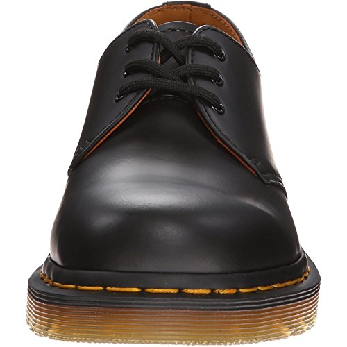 Dr. Martens 1461Z DMC SM-CR DMC SM-CR Scarpe Basse Stringate, Unisex Adulto, Nero, 49.5 Black smooth