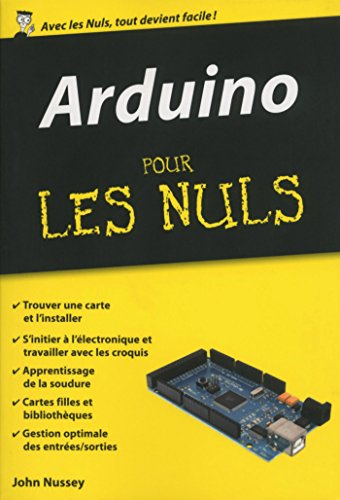 Arduino Pour les Nuls, édition poche par John NUSSEY