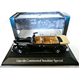 Voiture PRESIDENTIELLE FORD LINCOLN CONTINENTAL SUNSHINE SPECIAL - YALTA 1945 ROOSEVELT CHURCHILL STALINE - NOREV 1/43