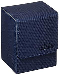 Ultimate Guard - Ultimo Protector del Caso del Tirón de la Cubierta, Color Azul (10218)