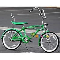 Micargi Hero 20 Boys Kids Low Rider Beach Cruiser Bicycle Green by Micargi
