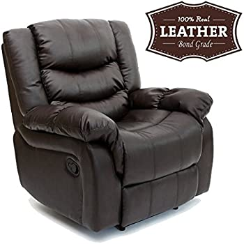 SEATTLE LEATHER RECLINER ARMCHAIR SOFA HOME LOUNGE CHAIR RECLINING GAMING (Brown)  sc 1 st  Amazon UK & SEATTLE LEATHER RECLINER ARMCHAIR SOFA HOME LOUNGE CHAIR RECLINING ... islam-shia.org
