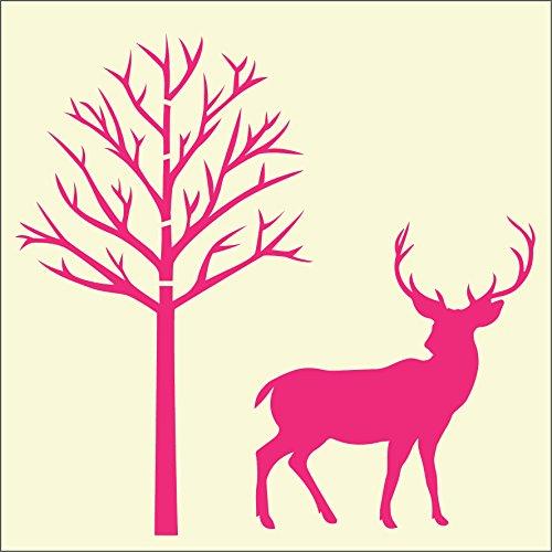 Hirsch &Tree-Fairydust Schablonen &Masken