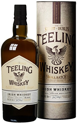 Teeling Small Batch Irish Whisky (1 x 0.7 l) - Zimt Finish