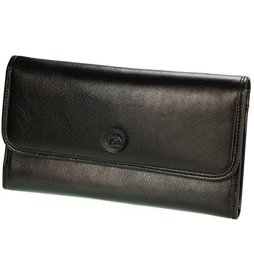 OLIVIA ,  Damen Damen-Geldbörse schwarz schwarz -