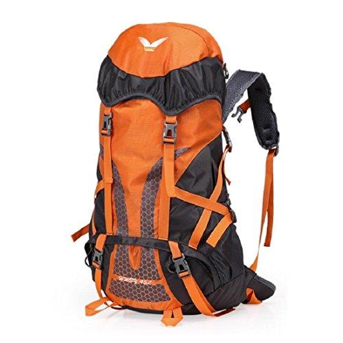 0995707537ab3 Z N 45L GroßE KapazitäT Hochwertige Nylon Outdoor Sport Bergsteigen Rucksack  Camping Picknick Partei Schultertasche Urlaub GepäCk