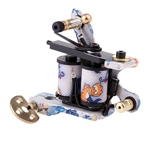 Sharplace Professionelle Hochwertig Rotary Tattoo Maschine Tätowierungmaschine 10 Spule Coil Tattoo Maschine Shader Liner Ausrüstung