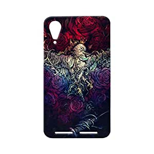 100 Degree Celsius Back Cover for Lenovo A6000 (Designer Printed Multicolor)