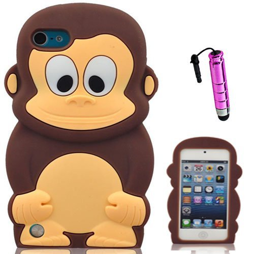 semoss-3d-monkey-scimmia-custodia-in-silicone-cover-con-penna-di-tocco-per-apple-ipod-touch-5-5th