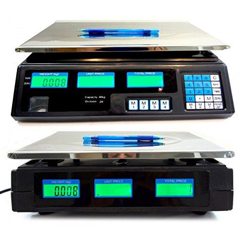 MWS Elektronische Zählwaage Professionelle ab 5g bis 40kg