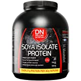 Deluxe Nutrition 2.5Kg Unflavoured Soya Protein Isolate Powder