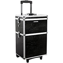 Songmics® Trolley Make up Beauty Case Nail Art Valigia Cofanetto Porta gioie smalti oggetti JHZ03B