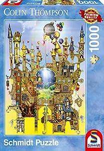 Schmidt Spiele 59354 1000pieza(s) Puzzle - Rompecabezas (Jigsaw Puzzle, Dibujos, Niño/niña, 12 año(s), 493 mm, 693 mm)
