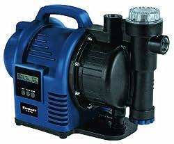 Einhell BG-AW 1136 Hauswasserautomat, 1100 Watt, 3600 l/h Fördermenge, Edelstahlanschlüsse, Automatik- und Timerfunktion