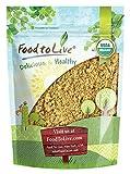 Bio Sacha Inchi Pulver durch Food to Live (Rohes veganes Protein-Puder, Reich an Omega-3, Koscheres Inka-Nuss-Pulver, lose) — 1 Pfund