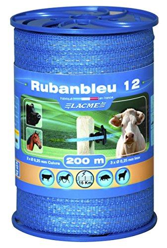 Ruban bleu 12mm 200m bobine