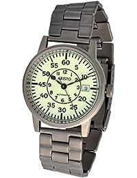 Aristo Unisex Reloj Reloj de pulsera Submarino Reloj Automático Titanio 5H92TiB