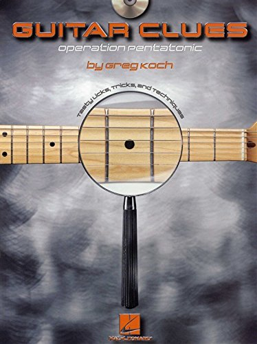 greg-koch-guitar-clues-operation-pentatonic-partitions-cd-pour-guitare