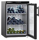 Liebherr WKB 1812 - refroidisseurs à vin (Autonome, Noir, 5-20 °C, SN-ST, A, Noir)