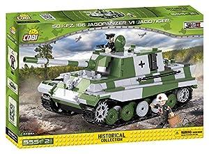 COBI - SD.KFZ.186 Jazgdpanzer VI Jagdtiger, tanque, Verde / Gris (2484)