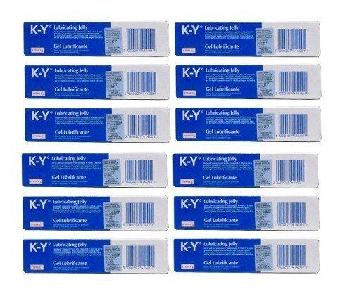 twelve-pack-of-k-y-gel-lubricating-sterile-jelly-82g-by-johnson-johnson