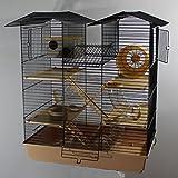 Heimtiercenter Hamsterburg Hamsterkäfig Mäusekäfig CH2 Beige