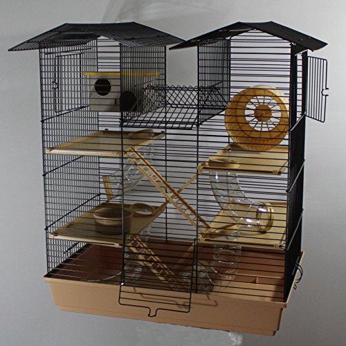 Hamsterburg Hamsterkäfig Mäusekäfig CH2 Beige