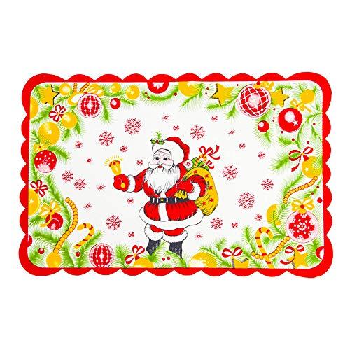TianranRT Weihnachten Dekorationen Restaurant Hotel Kreativ Haushalt Waren Tisch Matte (C)