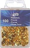 TSI Reißnägel, 100-er Packung, gold