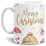 Tasse Xmas Weihnachten Merry Christmas - Kaffeetasse/Mug/Cup - Qualität Made in Germany