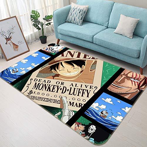 AJ WALLPAPER 3D One Piece Comic 656 Japan Anime Game Anti-Rutsch Teppich Raummatte Raummatte Raummatte, hochwertig, elegant Foto Teppich MXY Wallaper UK Wendy, H80cmxW120cm【31.4