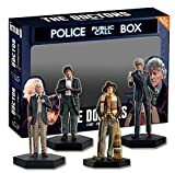 Doctor Who Sammelfiguren - 1, 2, 3. und 4. Doktor Set