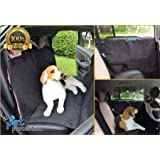 Cpixen Pet Car Seat Cover Dog Safe Safety Travel Hammock Mat Blanket Black