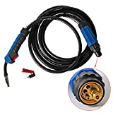 Forever Speed Schlauchpaket MIG/MAG MB15 Welding Torch CO² Schutzgas Schweißbrenner 5m mit Euro Zentralanschluss