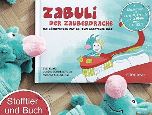 ZABULI - Der Zauberdrache (STOFFTIER + BILDERBUCH): Wie Zähneputzen mit Kai zum Abenteuer wird
