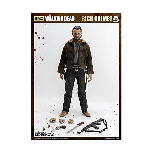 threeA SS902581 ThreeZero 1:6 Rick Grimes Figura - The Walking Dead 3