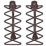 Lacets élastiques autobloquants pour chaussures de cours'à pied et de Triathlon &, - Rose, One Size Fits All