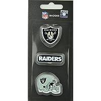 NFL Football Oakland Raiders dreiteiliges Pin Badge Set