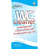 WC Cleaner Nettoyant Désincrustant acide parfumé pour la Nettoyage du W.C.