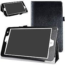 "Chuwi Hi8 / Hi8 Pro / Vi8 Plus hülle,Mama Mouth Folding Ständer Hülle Case mit Standfunktion für 8"" Chuwi Hi8 Pro / Hi8 / Vi8 Plus Windows 10 & Android 5.1 Dual System Tablet PC,Schwarz"