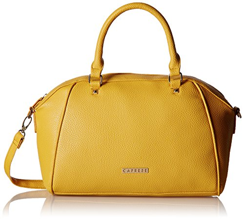 Caprese Solang Women's Clutch (Yellow)  available at amazon for Rs.2239