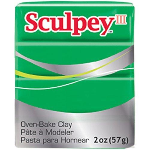 sculpey-iii-2-oz-polymer-clay-emerald-by-polyform