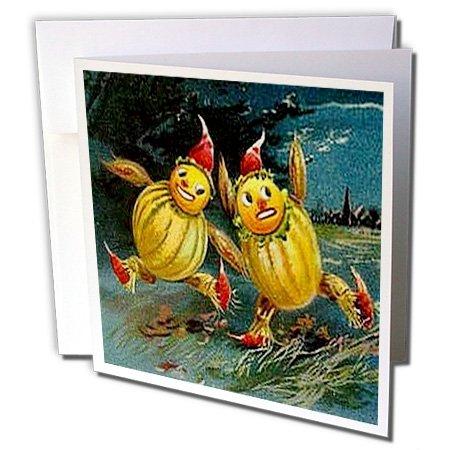 3dRose Grußkarten mit Halloween-Motiv