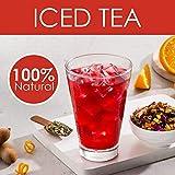 VAHDAM, Scharfer Tamarinden-Eistee   40 Portionen, 8 Liter   100% natürlicher Inhaltsstoff   Deliciou Flavour of Tamarind & exotische tropische Früchte   Kräutertee   Loose Leaf   100gr (2er Set)