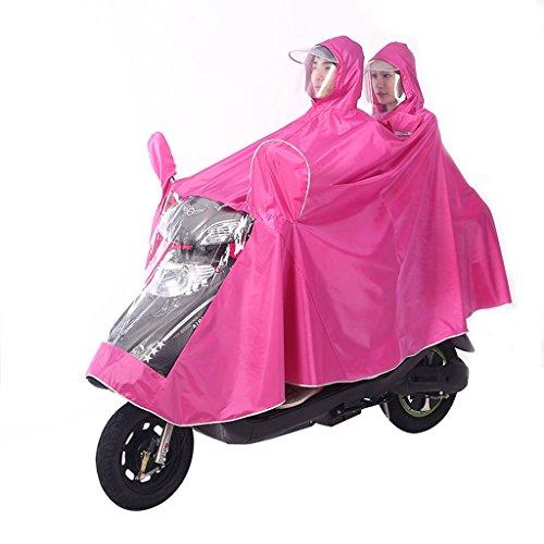Imperméable électrique de moto double hommes et femmes imperméable de voiture adulte ( Couleur : P ) P