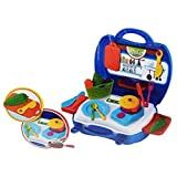 Best GENERIC Toys For 5 Yr Old Girls - O&B Kitchen Set Toys Pretend Play Toys Suitcase Review