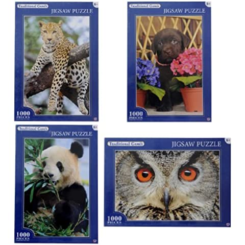 Traditional Games Animale Puzzle (Assortimento, 1000 Pezzi)