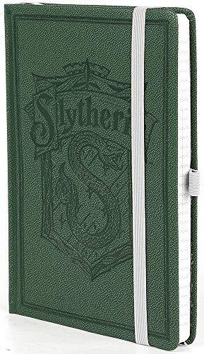 Harry Potter – Sytherin Wappen – A5 Notizbuch   100 linierte Seiten   Grün