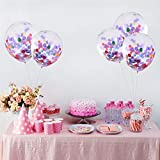 "Best Confettis - GrandShop 50709 Pre-Filled Paper Confetti Balloons 12"" Inch Review"