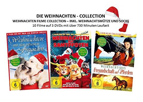 Die Weihnachten - Collection ( 10 weihnachtliche Filme ) [3 DVDs]